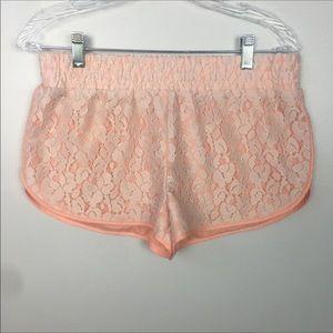 Princess Vera Wang Pink Lace Shorts